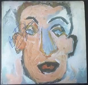 Bob Dylan Signed Self Portrait Vinyl LP Certified