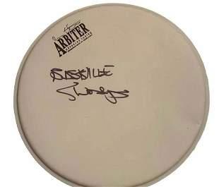 Bastille Signed Drumskin Certified