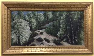Jan Slavek Signed and dated Oil on Board 1923