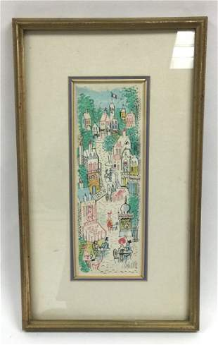 Charles Cobelle Signed and numbered litthograph 97 of
