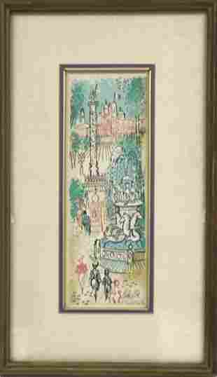 Charles Cobelle Signed and numbered litthograph 407 of