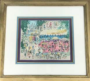 Charles Cobelle Signed and numbered litthograph 246 of