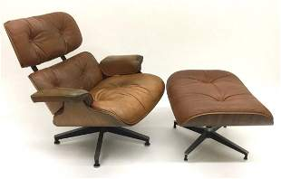 Eames for Herman Miller Rosewood 670/671 Lounge chair