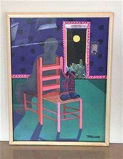 Leslie Trewyn Original Abstract Painting