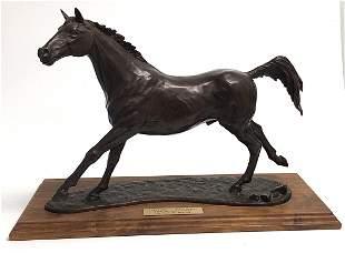Carl W. Regurtti Horse Bronze Kentucky Derby winner