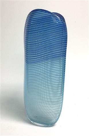 Antonio Da Ros Cenedese Large vase in vibrant blue