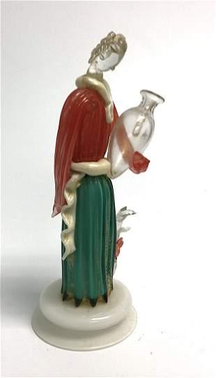 Seguso Murano Model 3813 Figure circa 1930's with