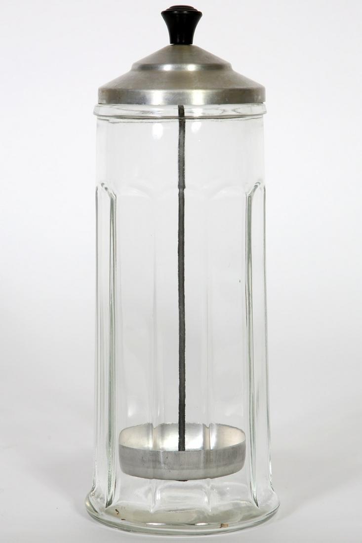 Gemco Glass Straw Holder