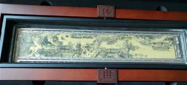 A LIMITED EDITION ALONG THE RIVER DURING THE QINGMING