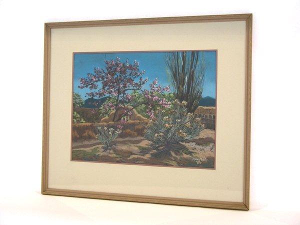 "998: Pastel Helmuth Naumer (1907-1989) ""Cherry Tree"""