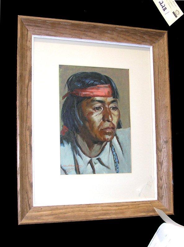 "1000A: Portrait ""San Domingo"" Odon Hullenkremer 1937"