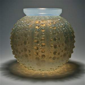 """425: Rene Lalique Vase """"Oursin"""" introduced 1935"""