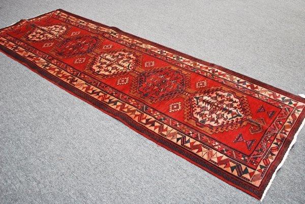 2: Persian Handmade Sarab Rug 1960  3.8 x 10.6
