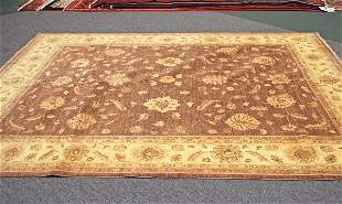 Afghanistan Oushak Hand Knotted Rug 8.1 x 9.8