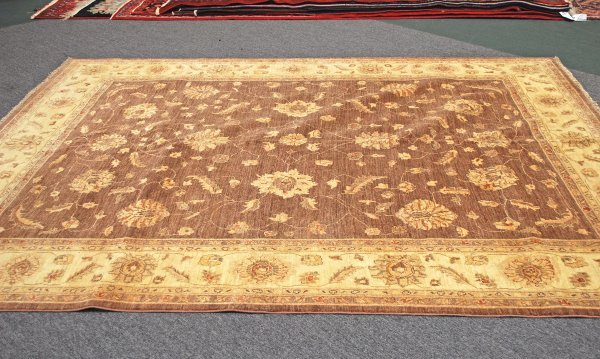 6: Afghanistan Oushak Hand Knotted Rug 8.1 x 9.8