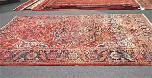 Persian Handmade Heriz Rug 8.1 x 10.3