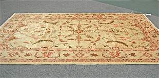 Afghanistan Oushak Hand Knotted Rug 6.6 x 10.2