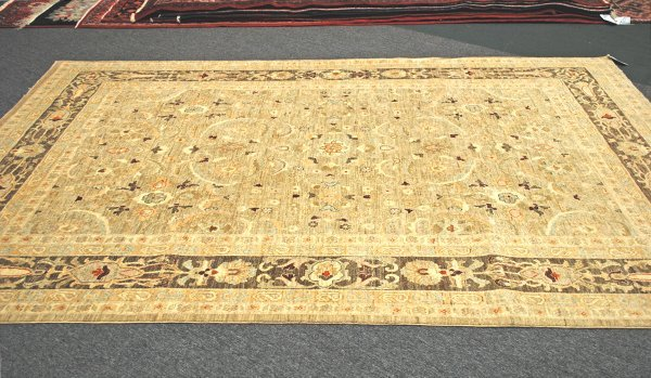 10: Afghanistan Oushak Hand Knotted Rug 8 x 11