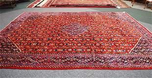 Persian Handmade Tabriz Rug 1950's 9.8 x 12.10
