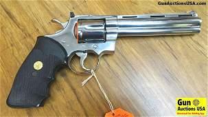 COLT PYTHON .357 MAGNUM Collector's Revolver. Like New.