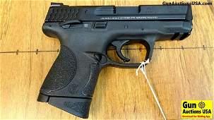 "S&W M&P9c 9MM Pistol. Like New. 3.5"" Barrel. A Compact"