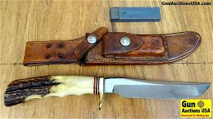 Randall 3 Knife Very Good 7 Inch With Exceptional