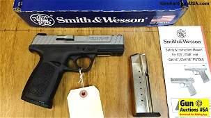 """S&W SD9 VE 9MM Pistol. Like New. 4"""" Barrel. Self"""