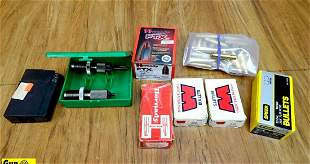 Hornady, Winchester, RCBS Reloading Components. Very