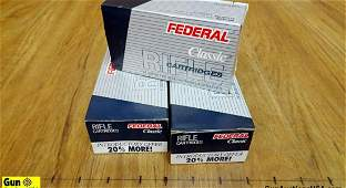 Federal 30.30 WIN Ammo. 72 Rounds of 150 Gr SP Flat