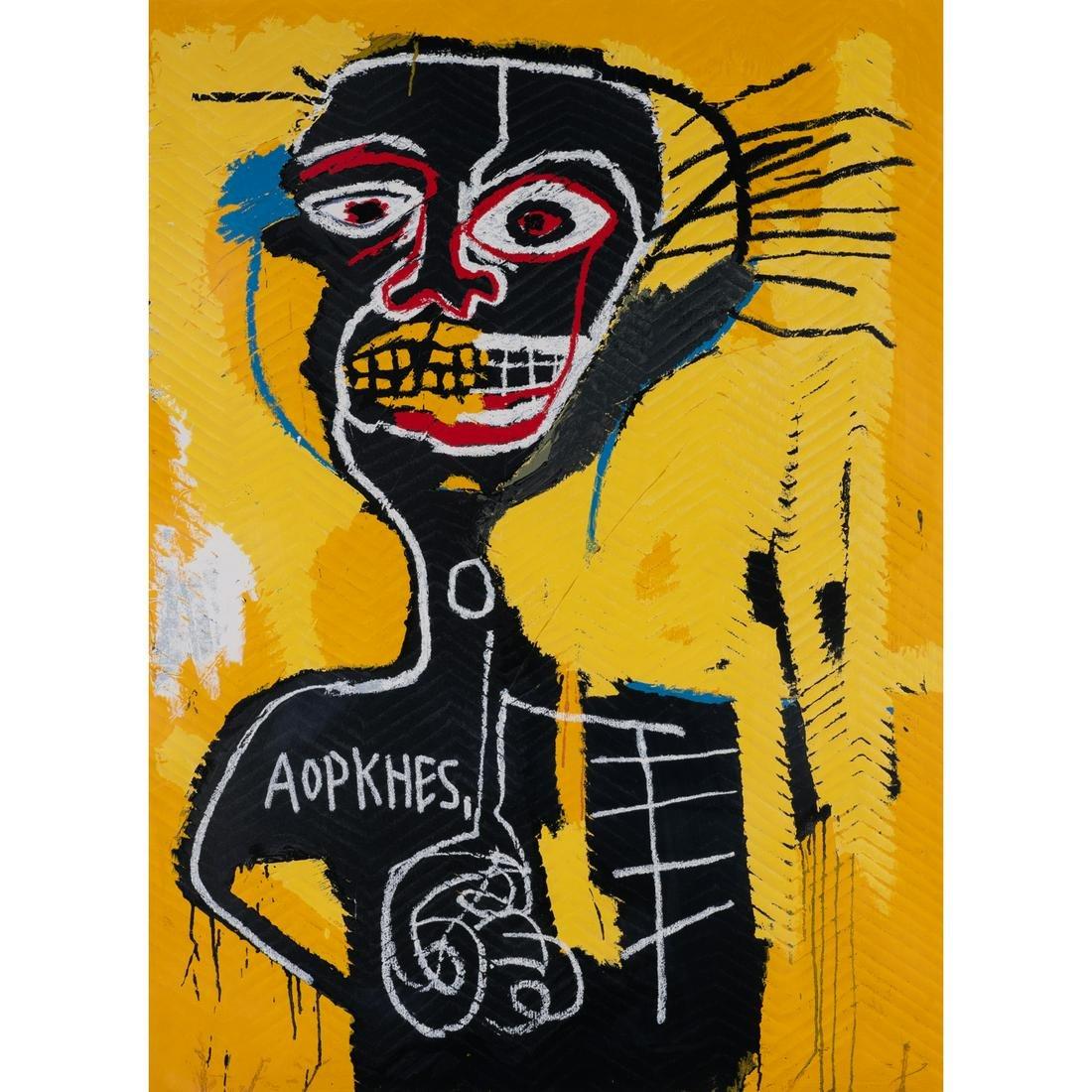 D'après Jean-Michel Basquiat (1960-1988)