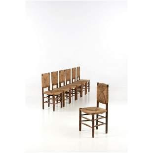 Charlotte Perriand (1903-1999) Bauche Set of seven