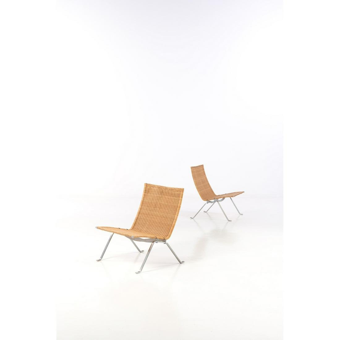 Poul Kjaerholm (1929-1980) Model no. PK 22 Pair of