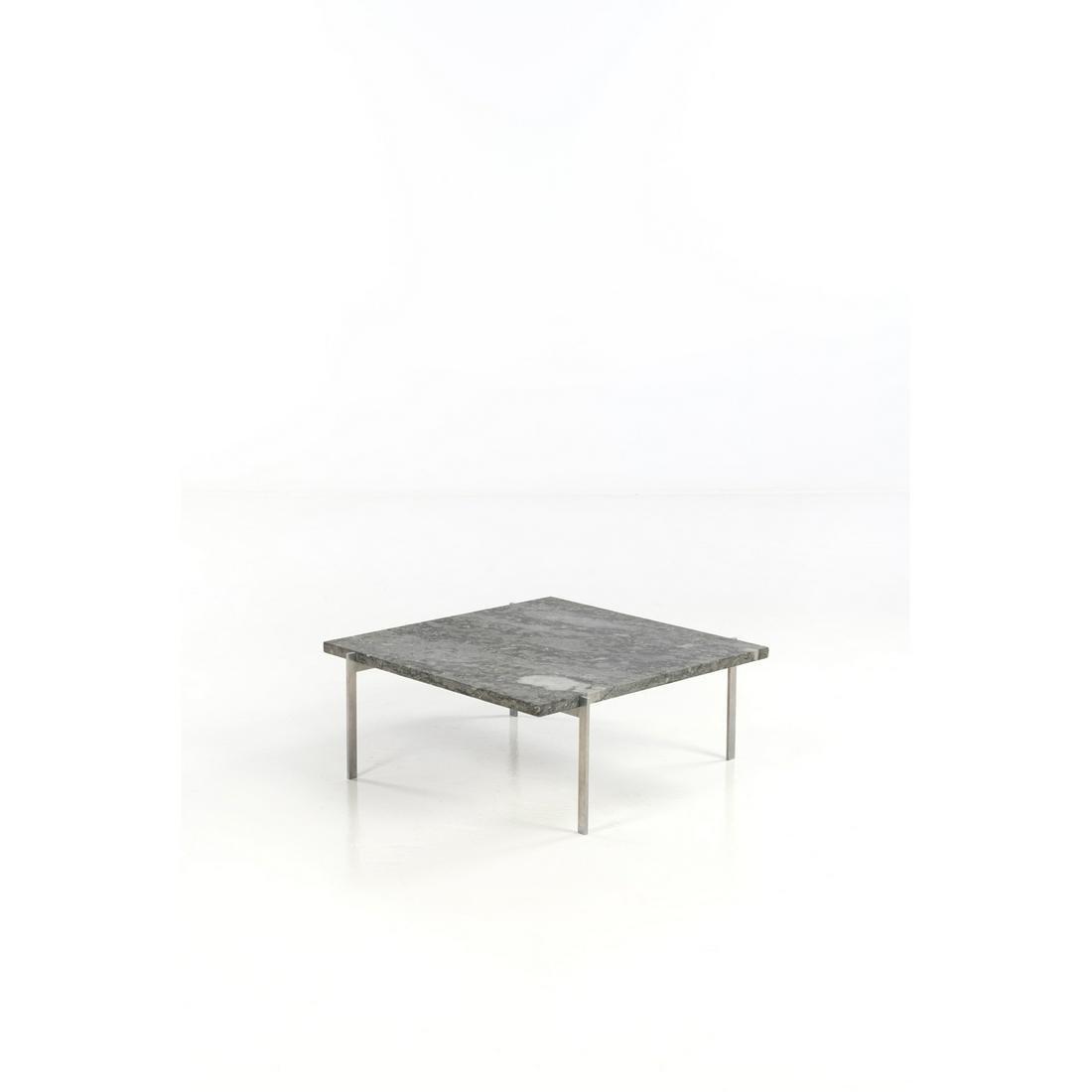Poul Kjaerholm (1929-1980) Coffee table Matt chrome