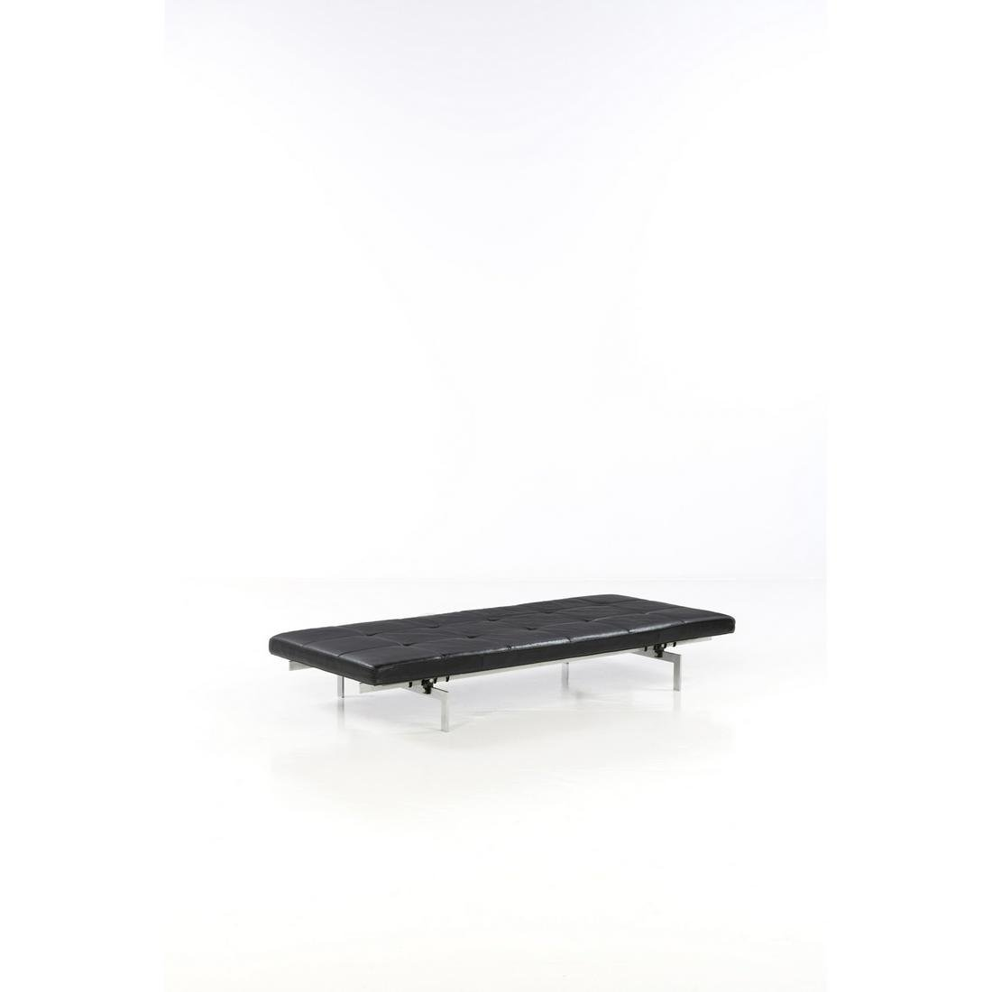 Poul Kjaerholm (1929-1980) Model no. PK 80 Daybed Matt