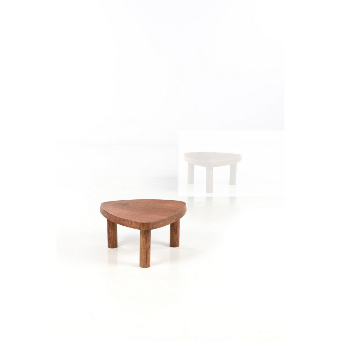 Pierre Chapo (1927-1987) Model no. T23 Coffee table Elm