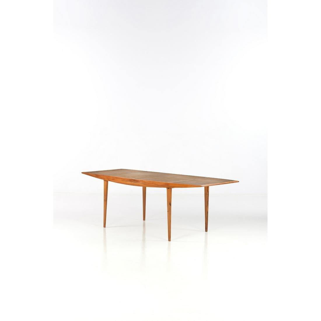 ƒ Martin Eisler (1913-1977) Table Imbuia wood,