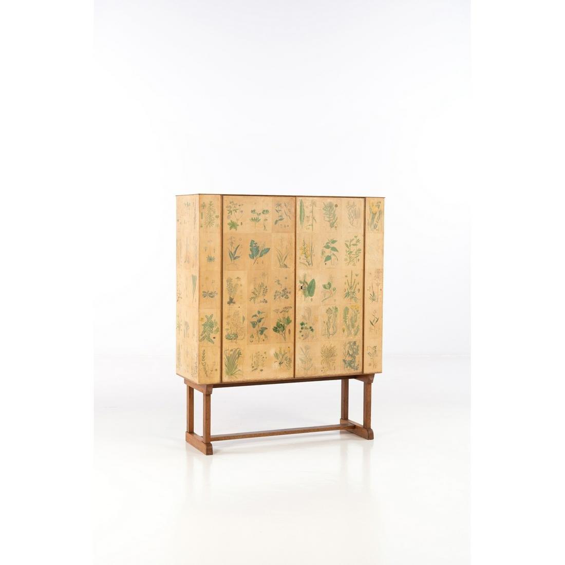 Josef Frank (1885-1967) Flora Cabinet Mahogany, birch