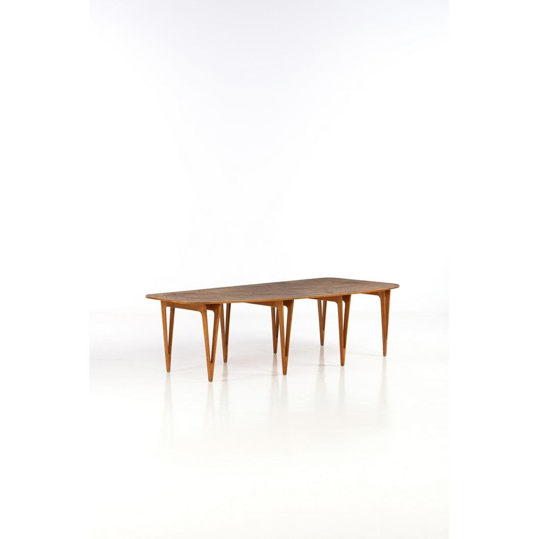 Børge Mogensen (1914-1972) Table Pine and burl