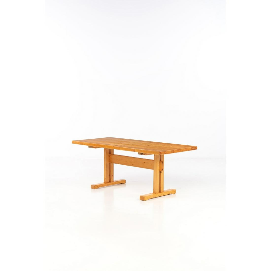 Charlotte Perriand (1903-1999) Table Pine Creation