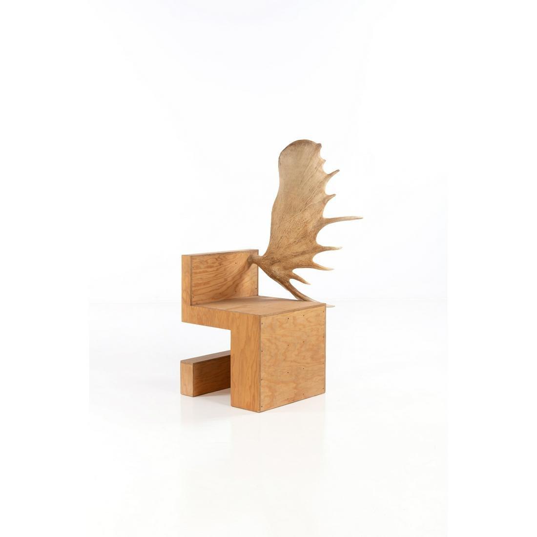 ƒ Rick Owens (born 1962) Stag Chair - N°9/20