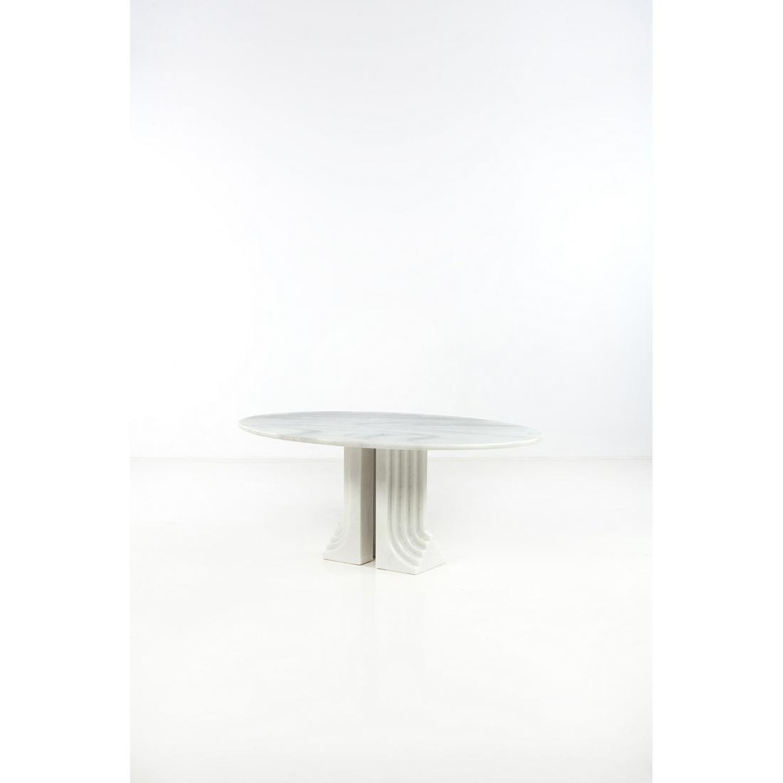 Carlo Scarpa (1906-1978) Samo Table Marble Creation
