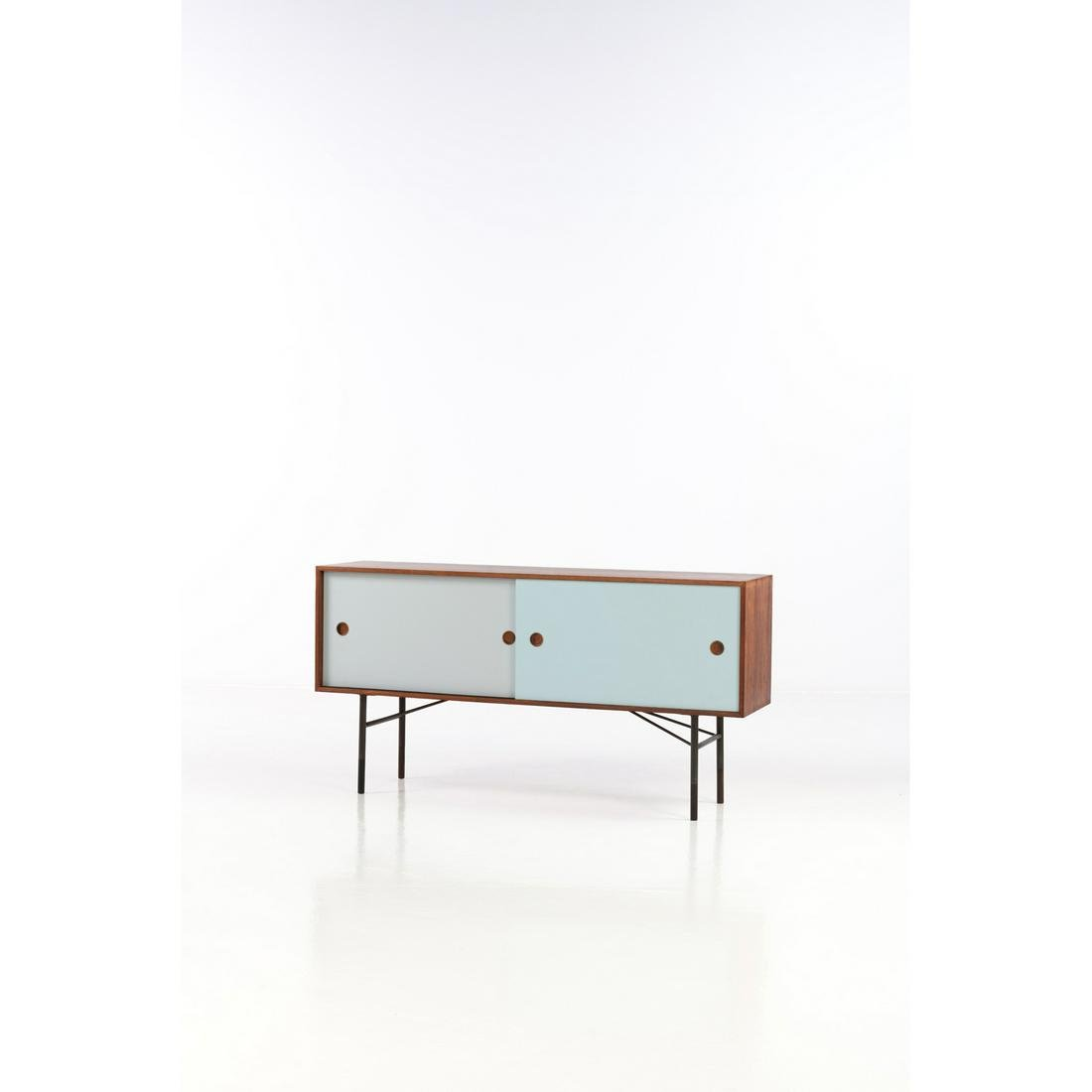 Finn Juhl (1912-1989) Sideboard Rosewood and painted