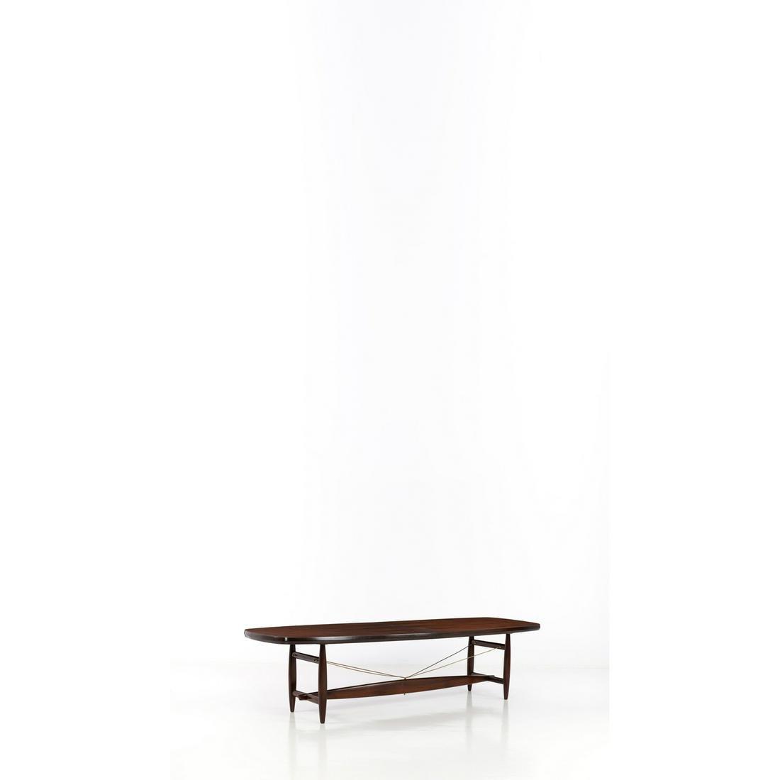 Sergio Rodrigues (1927-2014) Mesa Burton Table Imbuia