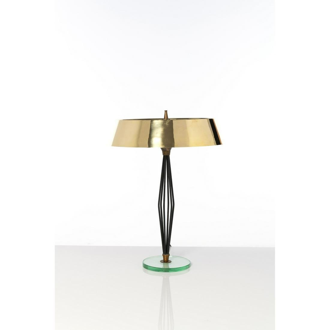 Max Ingrand (1908-1969) Table lamp Glass, lacquered