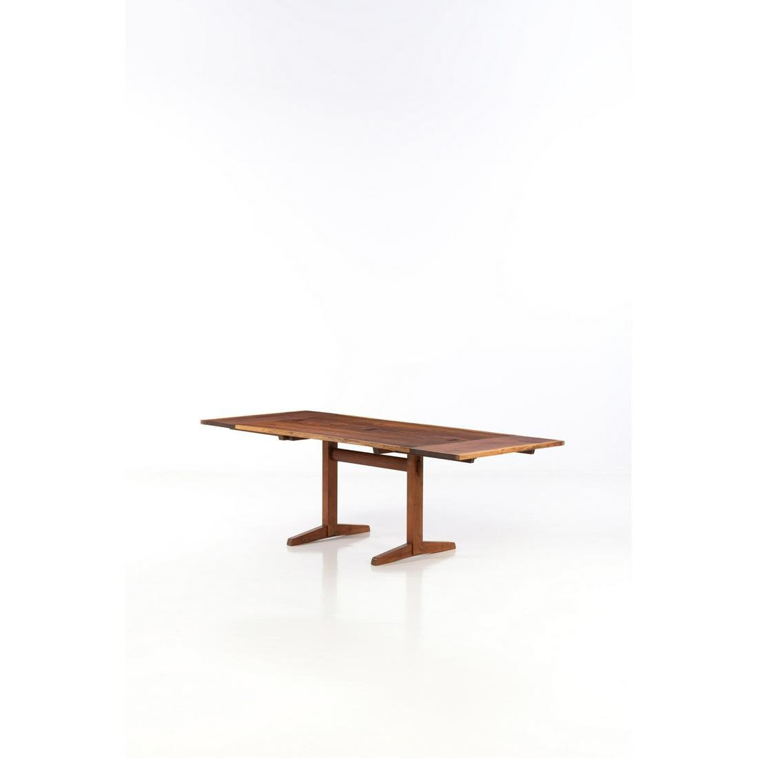 George Nakashima (1905-1990) 136 Trestle Table with