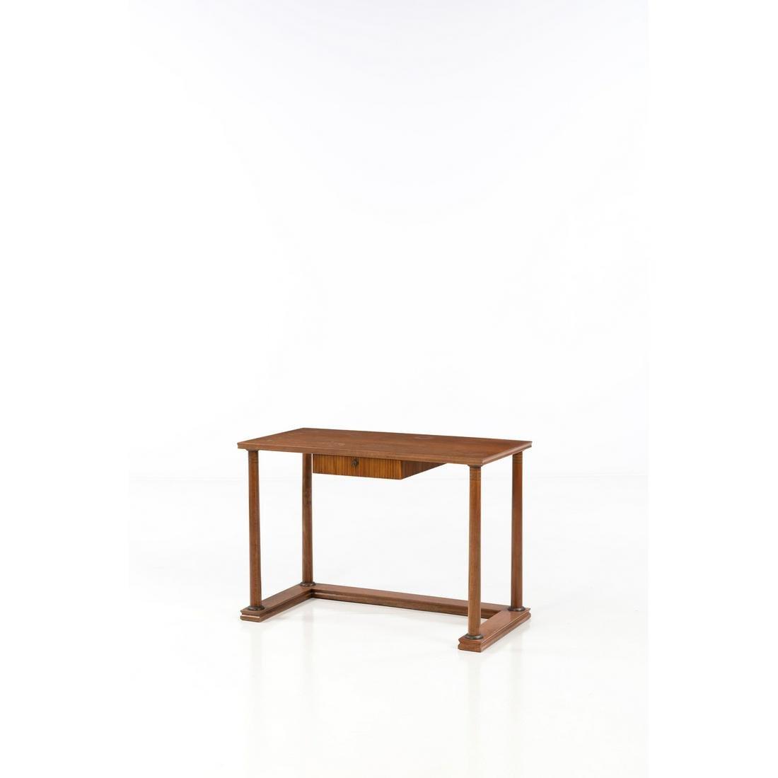 Italian production (XX) Desk Wood and brass Creation