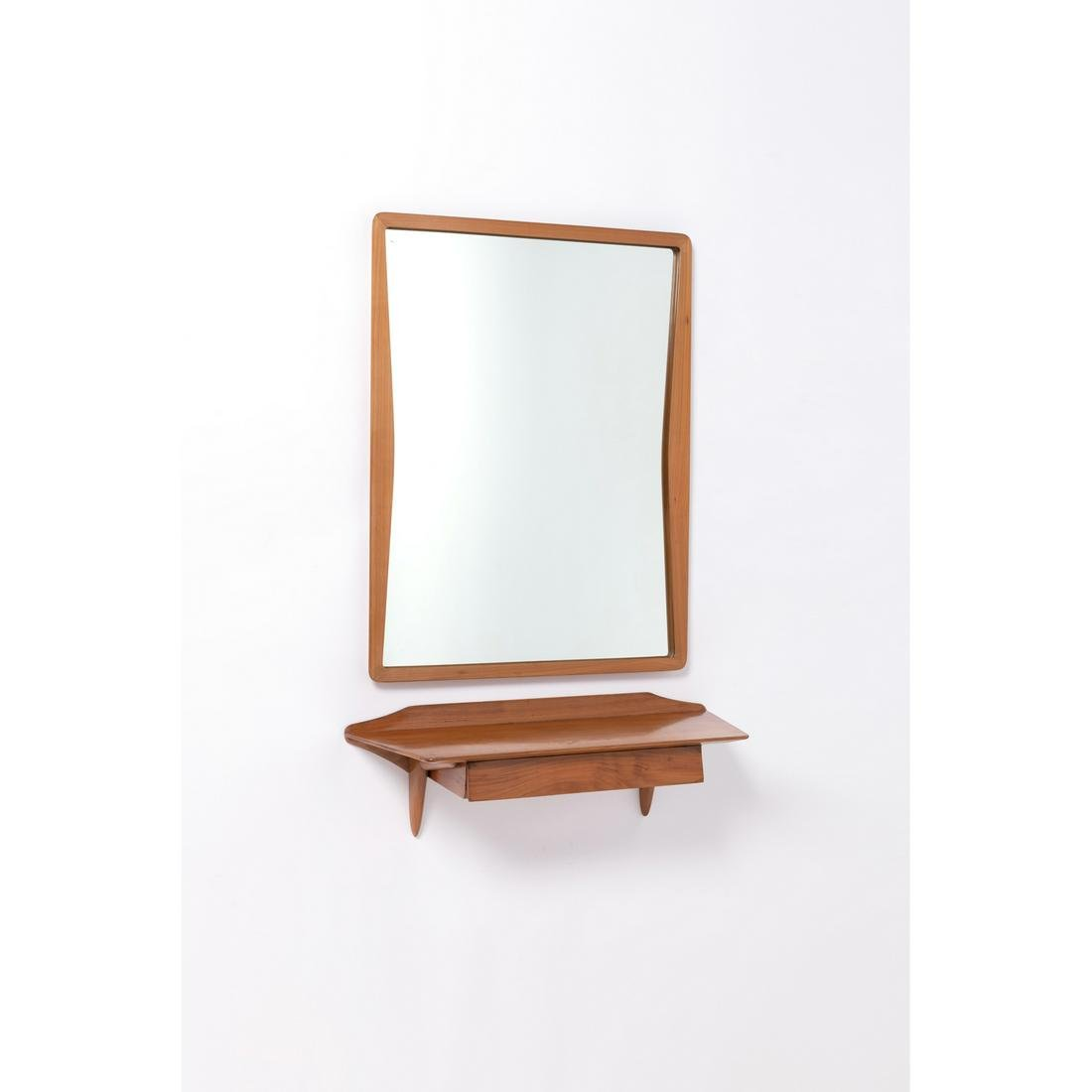 Ico Parisi (1916-1996) Wall-mounted console and mirror