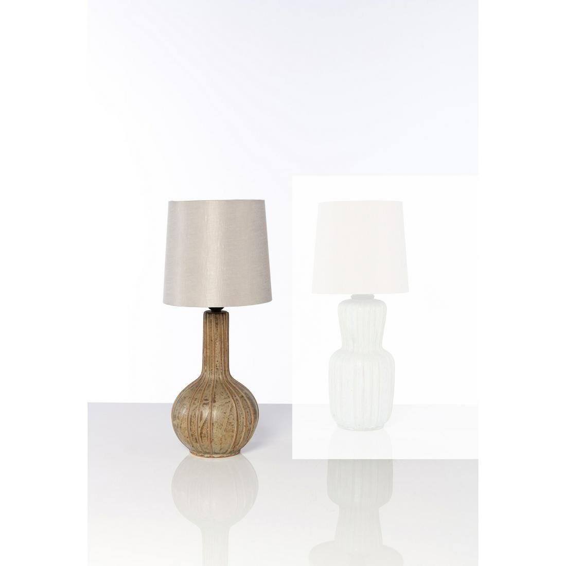 Arne Bang (1901-1983) Table lamp Ceramic Arne Bang