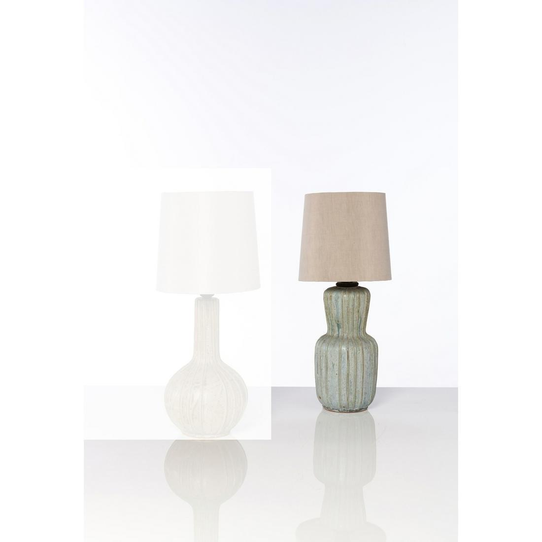Arne Bang (1901-1983) Table lamp Ceramic Arne Bang
