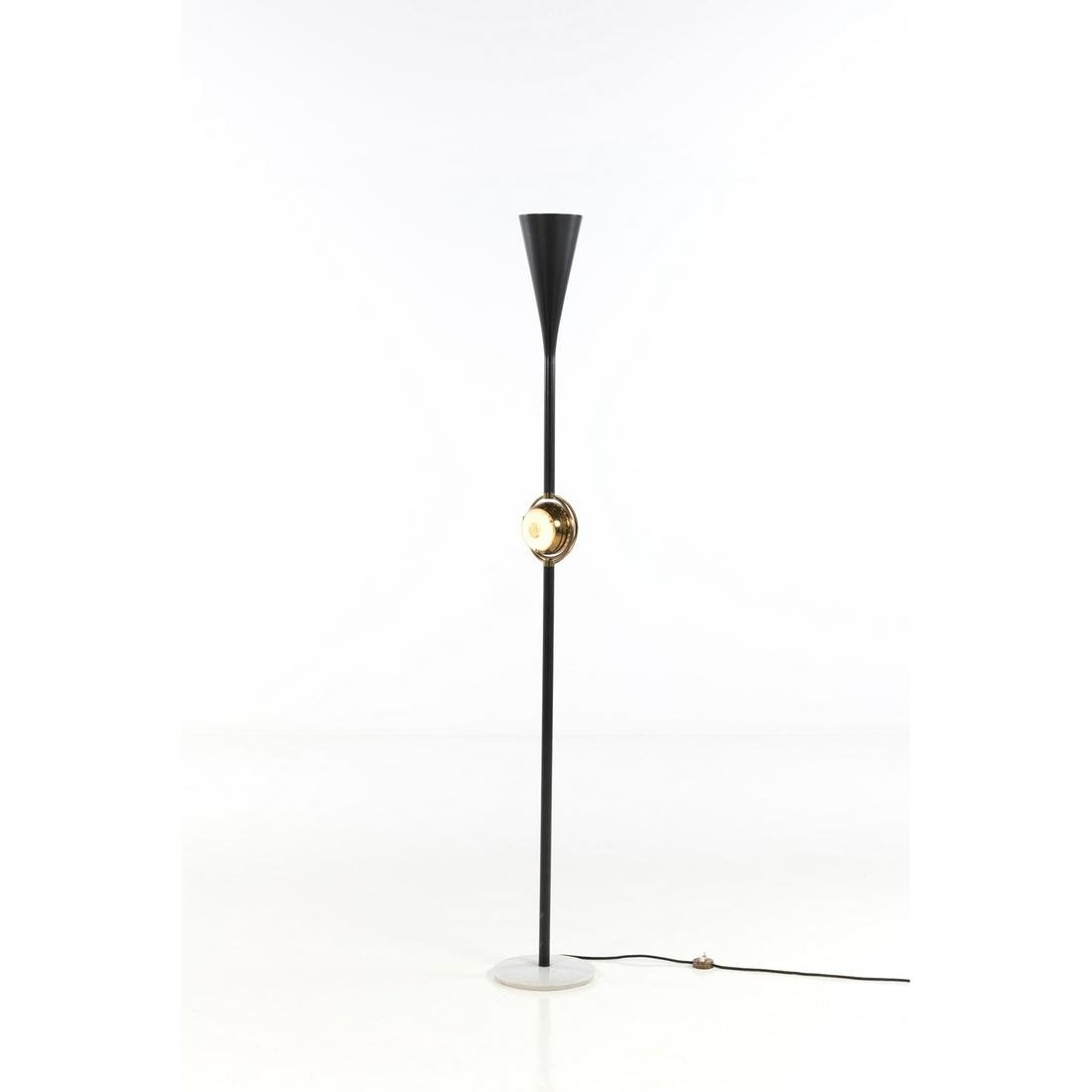 Angelo Lelli (1911-1979) Model no. 12555 Floor lamp